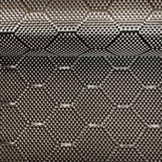 Углеродная ткань (Карбон 3K) плетение Соты 240 г/м2, 1 м2