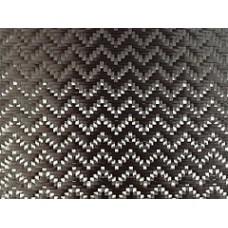 Углеродная ткань (Карбон 3K) плетение Зигзаг 240 г/м2, 1 м2