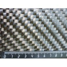 Углеродная ткань (Карбон 24K) плетение TWILL 2/2 800 г/м2, 1 м2
